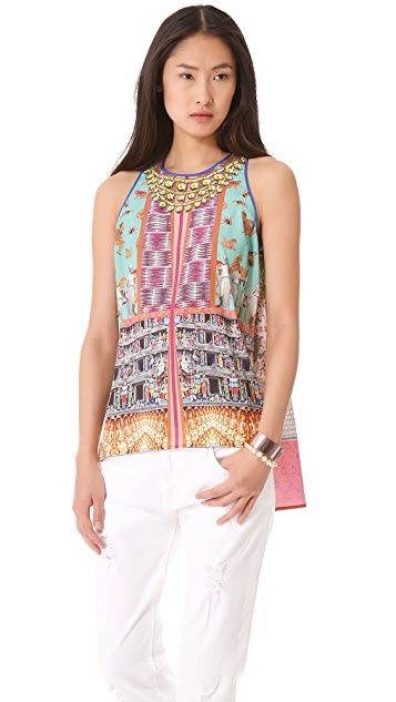 Clover Canyon Taj Mahal Necklace Tank