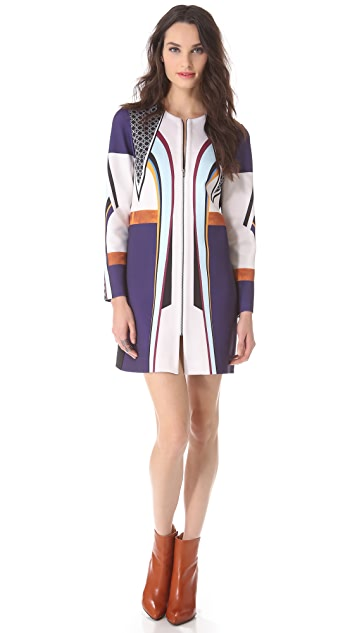 Clover Canyon Lotus Temple Coat / Dress