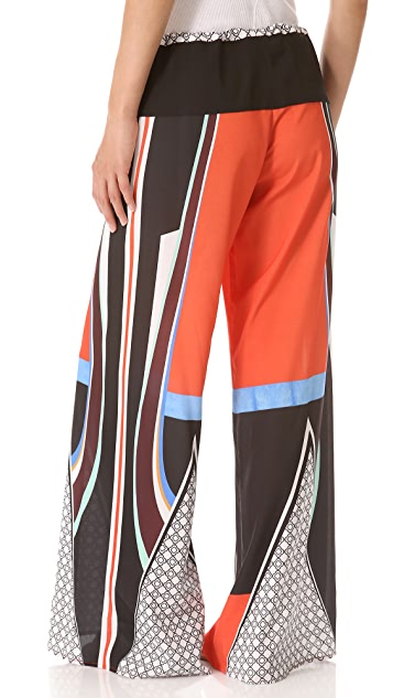 Clover Canyon Lotus Temple Wide Leg Pants