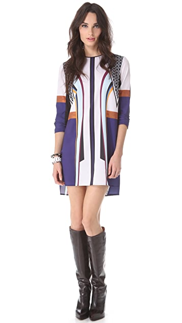 Clover Canyon Lotus Temple Shift Dress