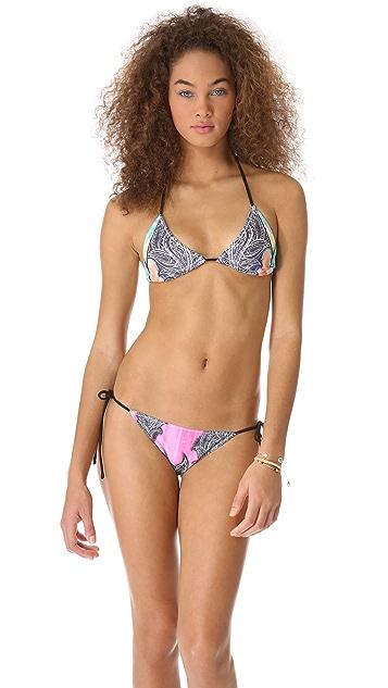 Clover Canyon Jaipur Jungle Bikini Top