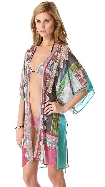 Clover Canyon Taj Majal Necklace Kimono