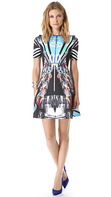 Clover Canyon Glacial City Dress