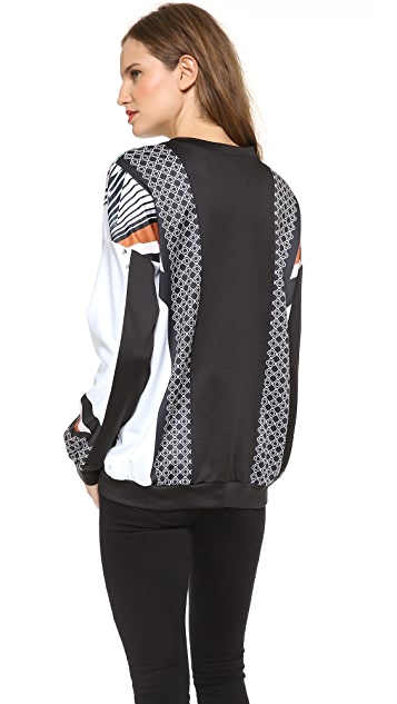Clover Canyon Accordion Sweatshirt