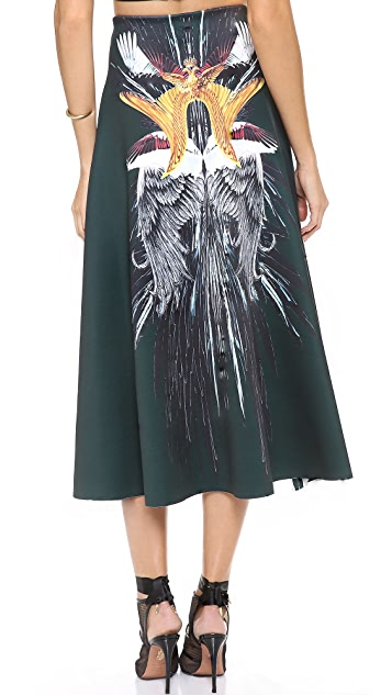Clover Canyon Wings Midi Skirt
