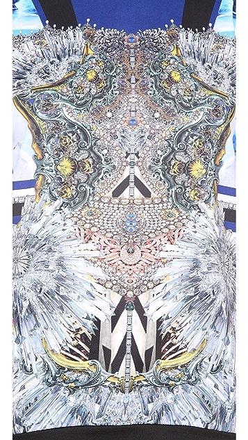 Clover Canyon Crystal Corset Sweatshirt