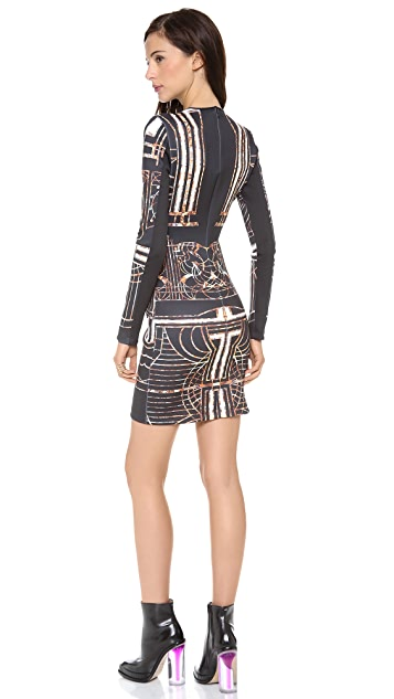 Clover Canyon Gatsby Long Sleeve Dress