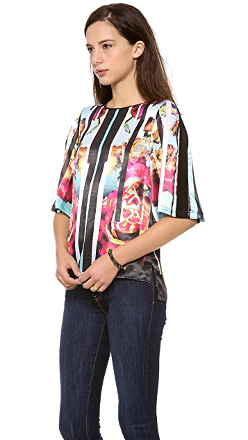 Clover Canyon Rose Stripe Blouse