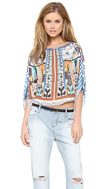 Clover Canyon Havana Circle Top