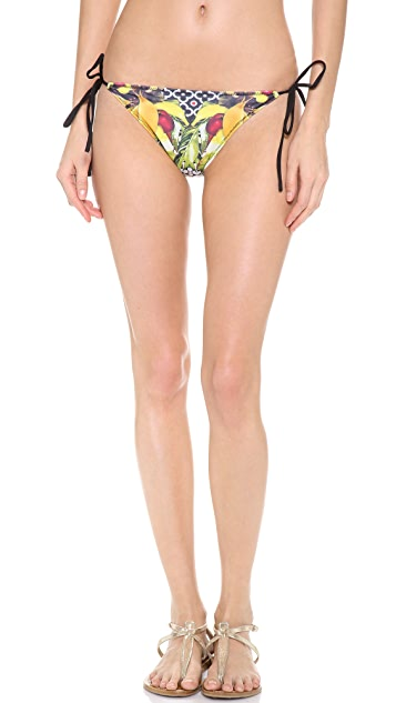 Clover Canyon Banana Scarf Bikini Bottoms