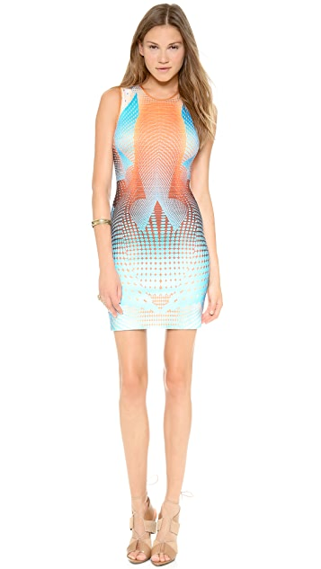 Clover Canyon Torqued Walls Dress
