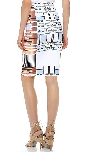 Clover Canyon Woven Metal Skirt