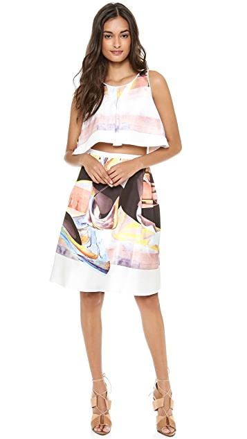 Clover Canyon Painted Skirt