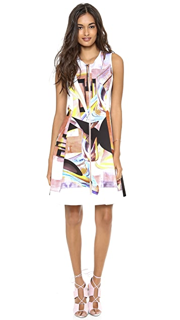Clover Canyon Painted Metal Dress