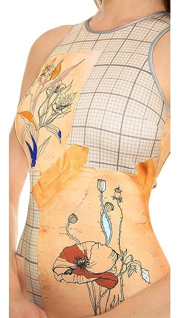 Clover Canyon Botanical Graph Dress