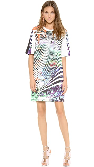 Clover Canyon Ribbon Landscape Tee Dress