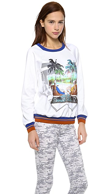 Clover Canyon Eames Couple Sweatshirt