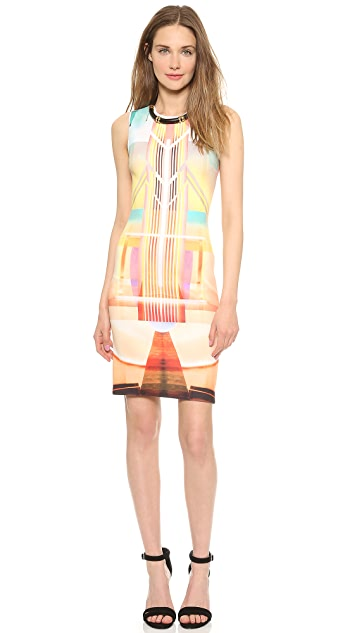 Clover Canyon Fluorescent Lights Dress