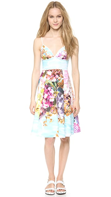Clover Canyon Pool Flower Dress