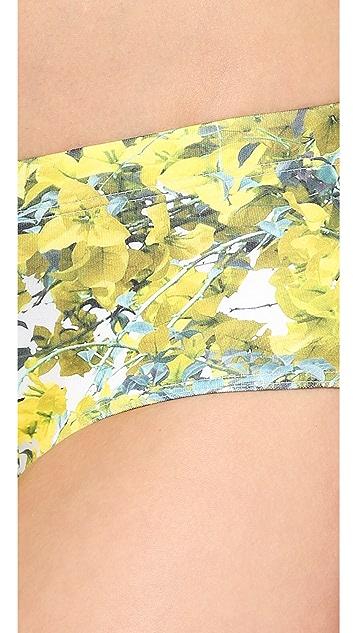 Clover Canyon Space Garden Bikini Bottoms