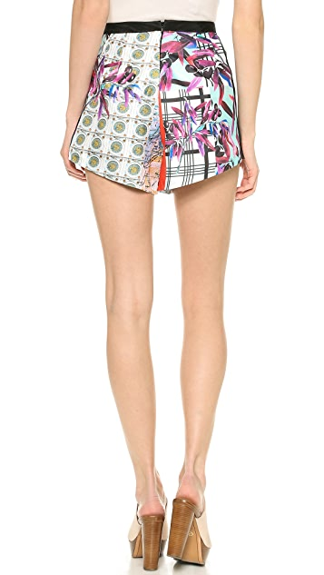 Clover Canyon Olive Tree Shorts