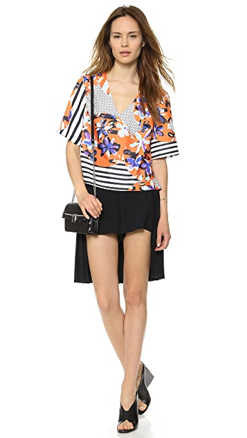 Clover Canyon Pleated Back Shorts