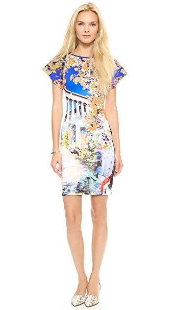 Clover Canyon Garden of Athena Short Sleeve Dress