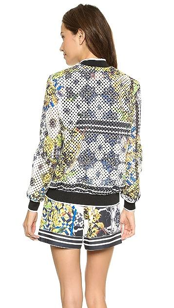 Clover Canyon Greek Tiles Jacket
