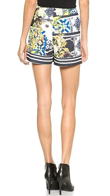 Clover Canyon Greek Tiles Shorts