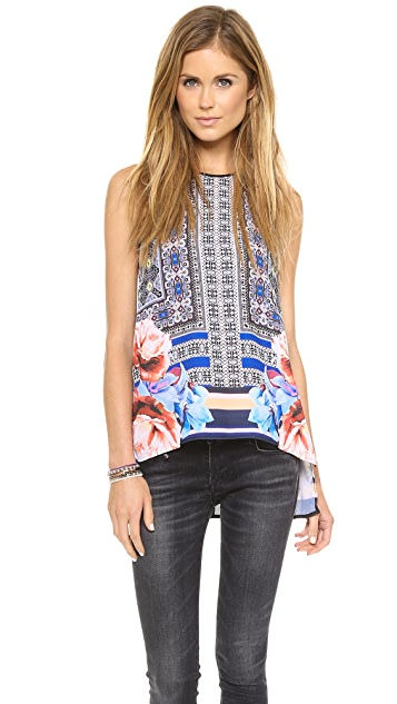 Clover Canyon Byzantine Scarf Top