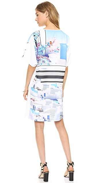Clover Canyon Santorini Stripe Tunic Dress