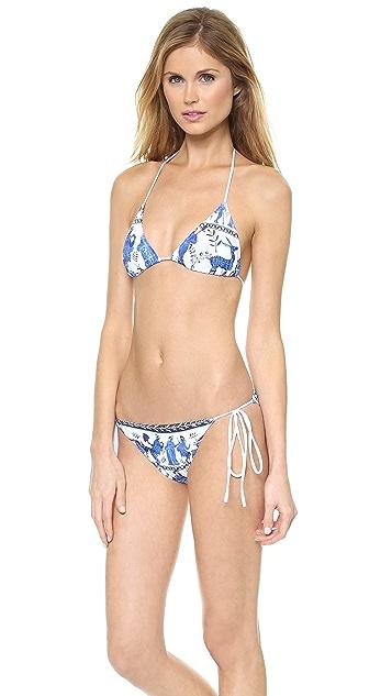 Clover Canyon Corinthian Vase Bikini Top