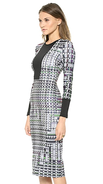 Clover Canyon Trinity College Long Sleeve Dress