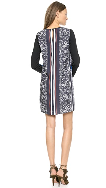 Clover Canyon Library Stripe Dress