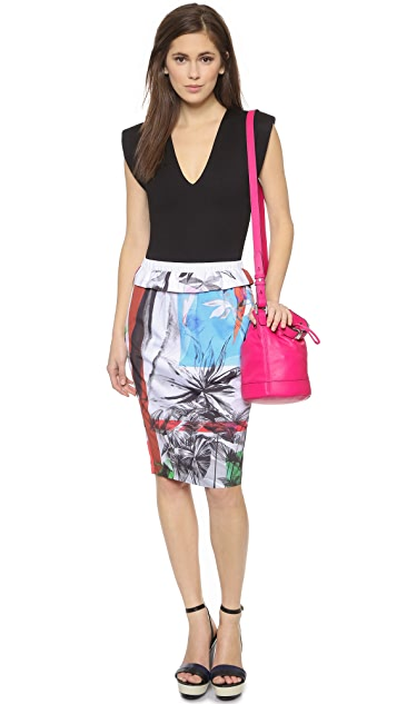 Clover Canyon Abstract Garden Skirt