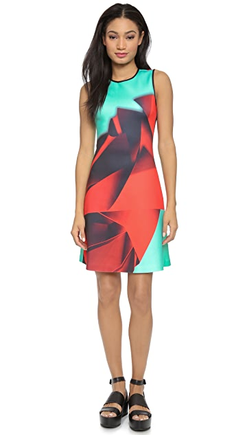 Clover Canyon Folded Floral Dress