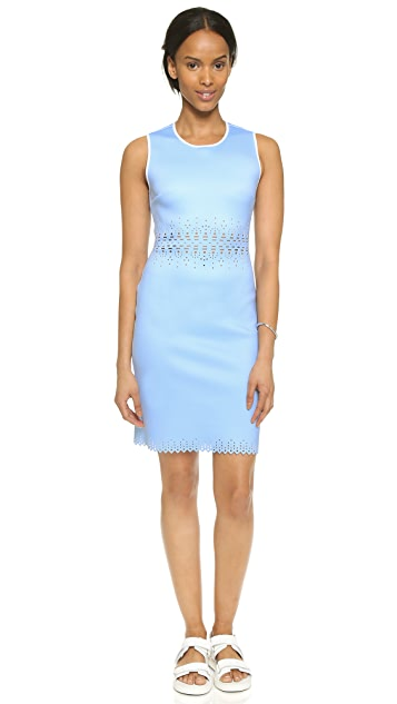 Clover Canyon Laser Cut Sleeveless Dress