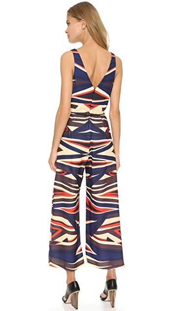 Clover Canyon Dynamic Sunset Jumpsuit