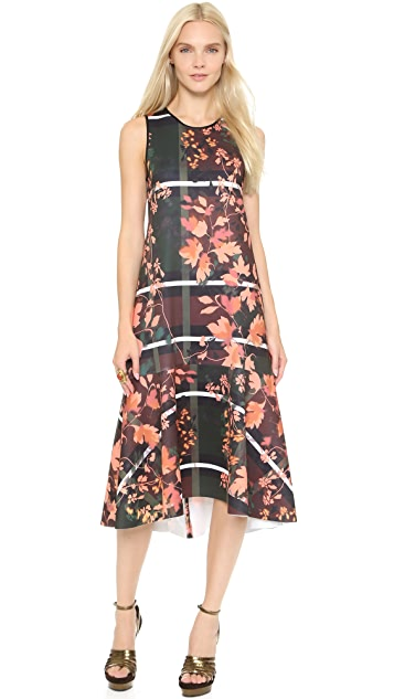 Clover Canyon Fall Leaves Dress