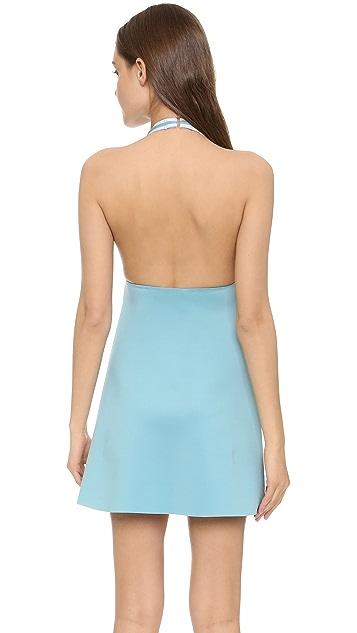 Clover Canyon Solids Halter Dress