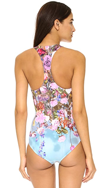 Clover Canyon Hanging Flowers One Piece