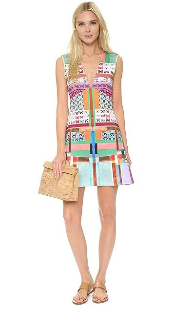Clover Canyon Butterfly Kaleidoscope Dress