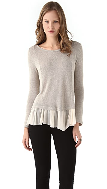 Clu Metallic Sweater