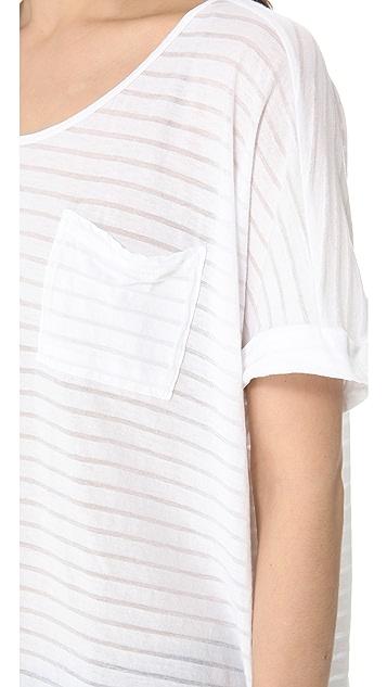 Clu Striped Loose Fit Top