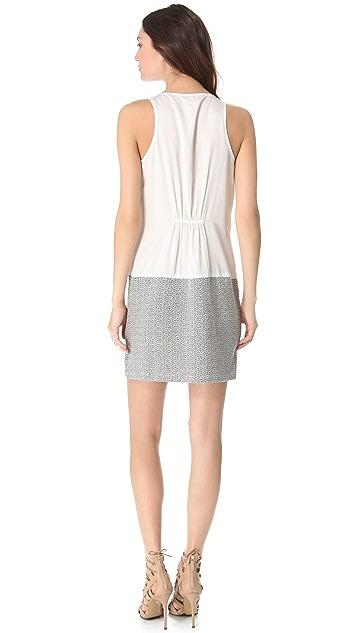 Clu Two Tone Dress
