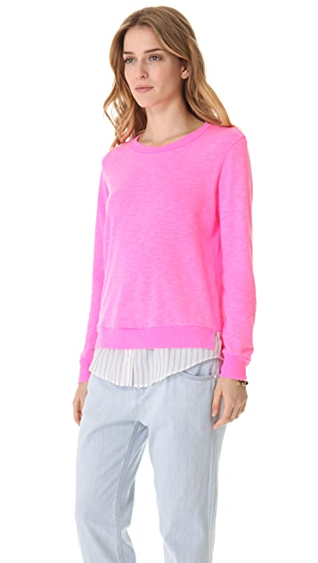 Clu Shirt Trim Pullover