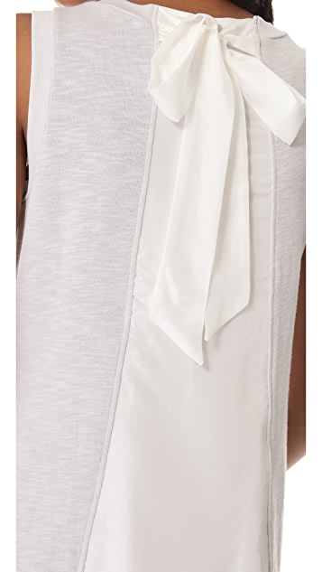 Clu Ruffle Tie Back Dress