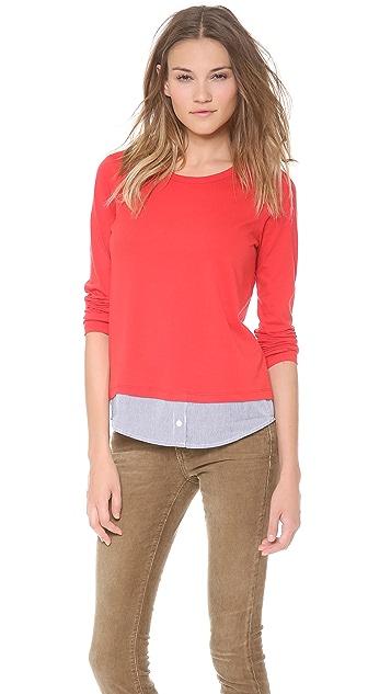 Clu Clu Too Shirttail Top