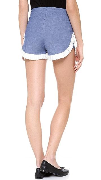 Clu Ruffled Shorts