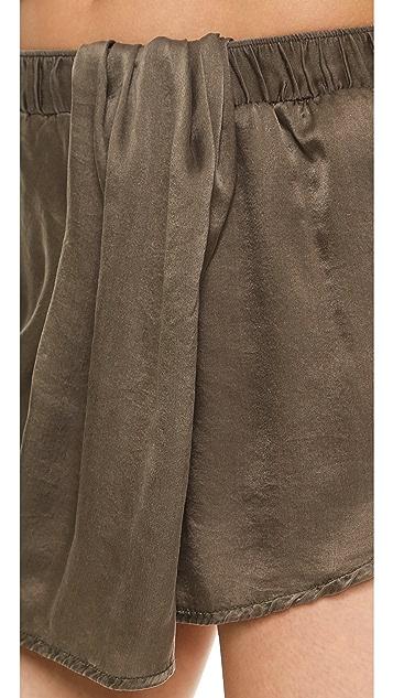 Clu Draped Shorts